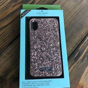 iPhone X, XS, XS Max Kate Spade Glitter Cases